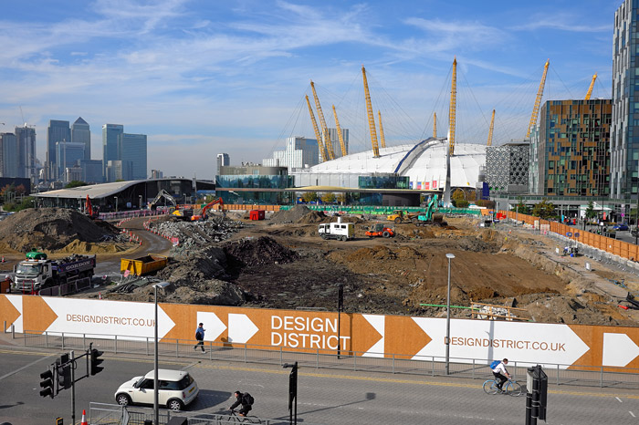 Greenwich Peninsula Design District
