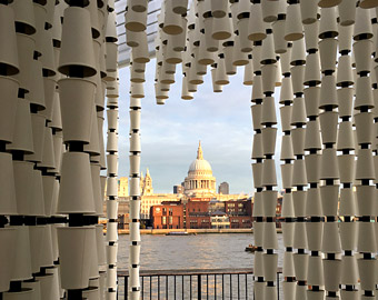 Cup Cube installation, London