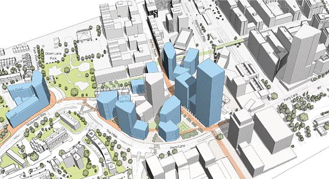 Tottenham Hale regeneration project